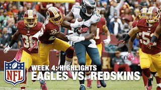Eagles vs. Redskins | Week 4 Highlights | NFL