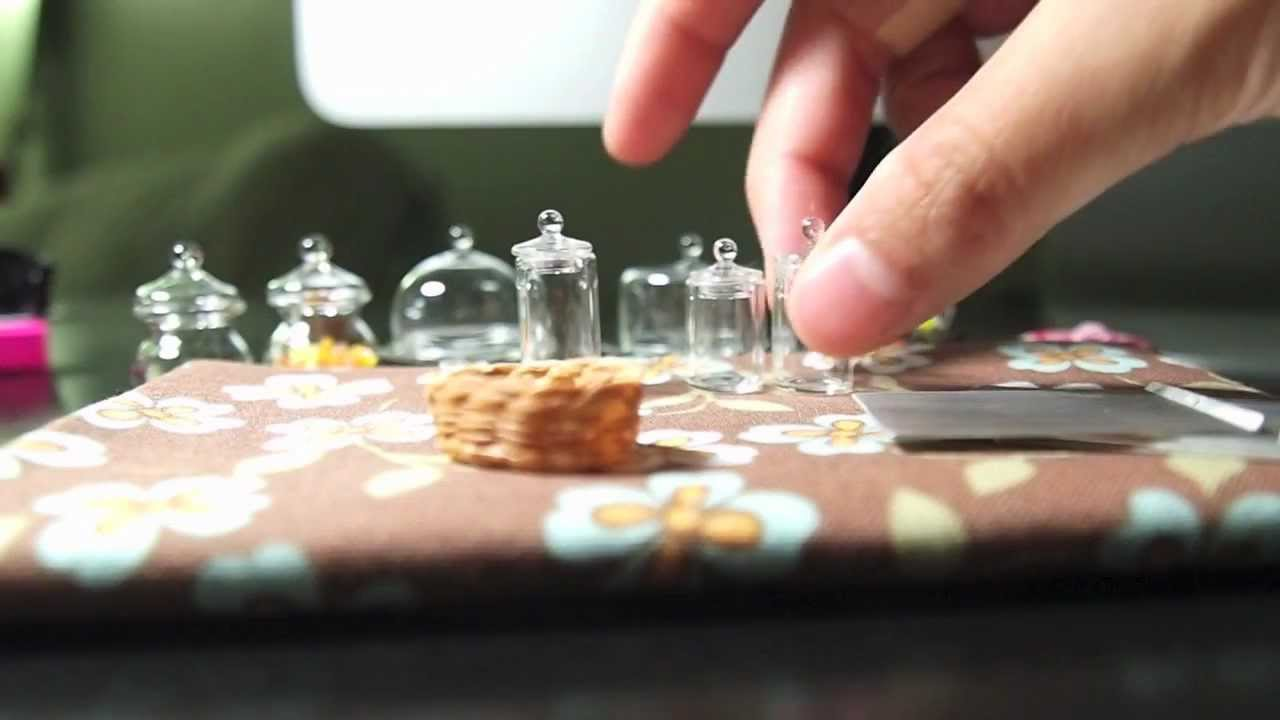 dollhouse miniatures for polymer clay and air dry clay - youtube