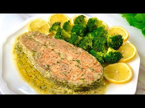 Salmon With Lemon Butter Sauce Recipe