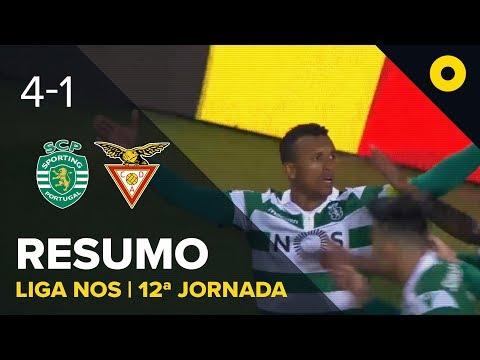 Sporting 4-1 Aves Resumo | SPORT TV