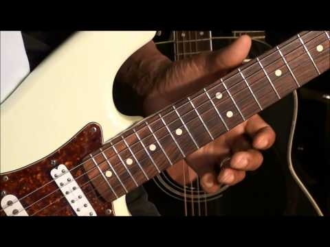 How To Play A BLUES Guitar Solo Without Thinking About Scales #8 BB KING STYLE NOTE STAB
