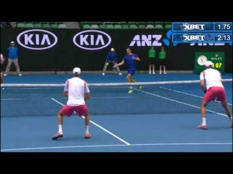 Bryan/Bryan vs Carreno Busta/Garcia-Lopez - Australian Open