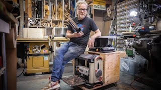 Adam Savage's One Day Builds: Planer and Spindle Sander Station!