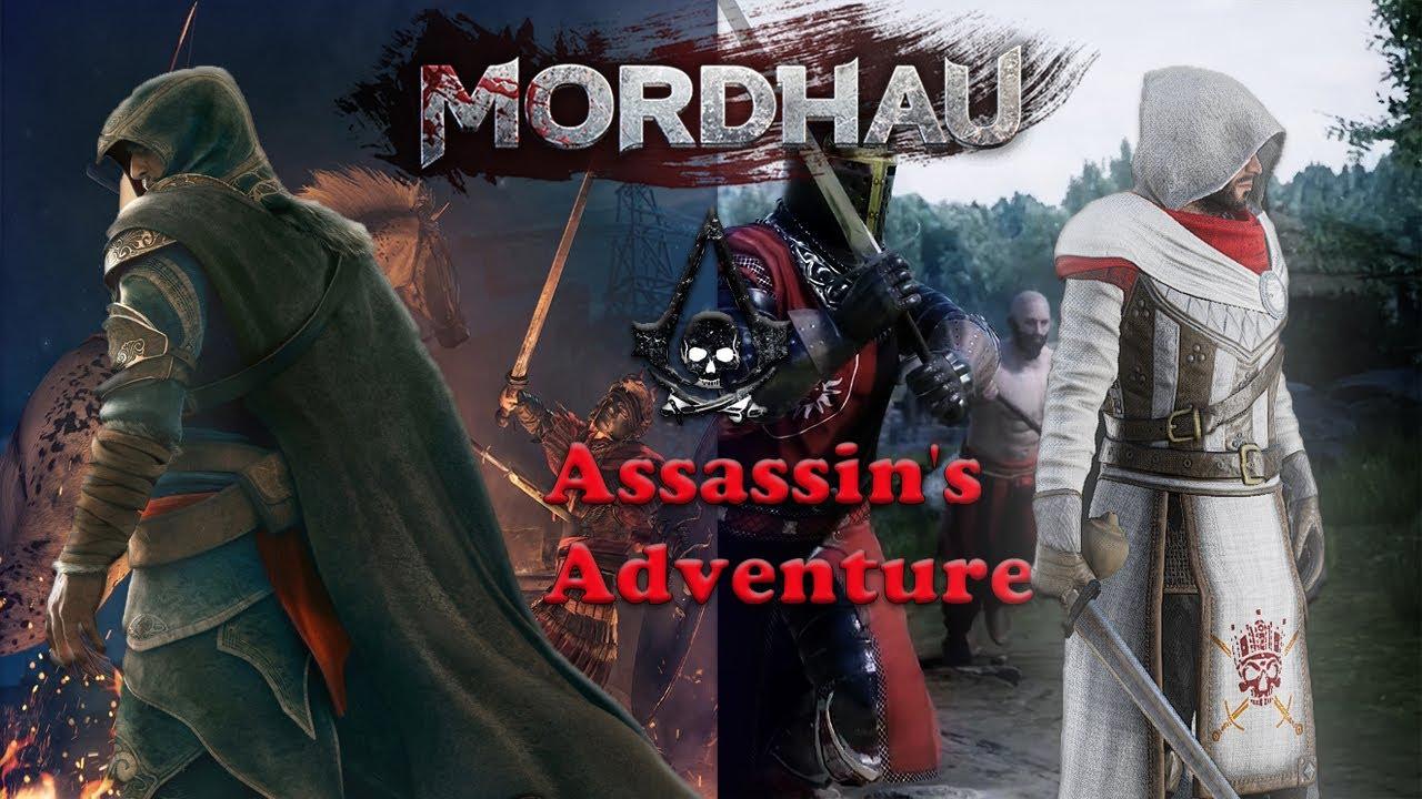 Приключение Ассасина в MORDHAU!!!...  \ FUN, EPIC, RANDOM MOMENTS