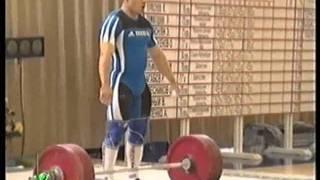 Олег Перепеченов рвет 177.5 кг.2002 год..flv