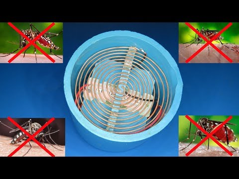 How To Make Mosquito Trap , DIY Mosquito Killing Machine 2019