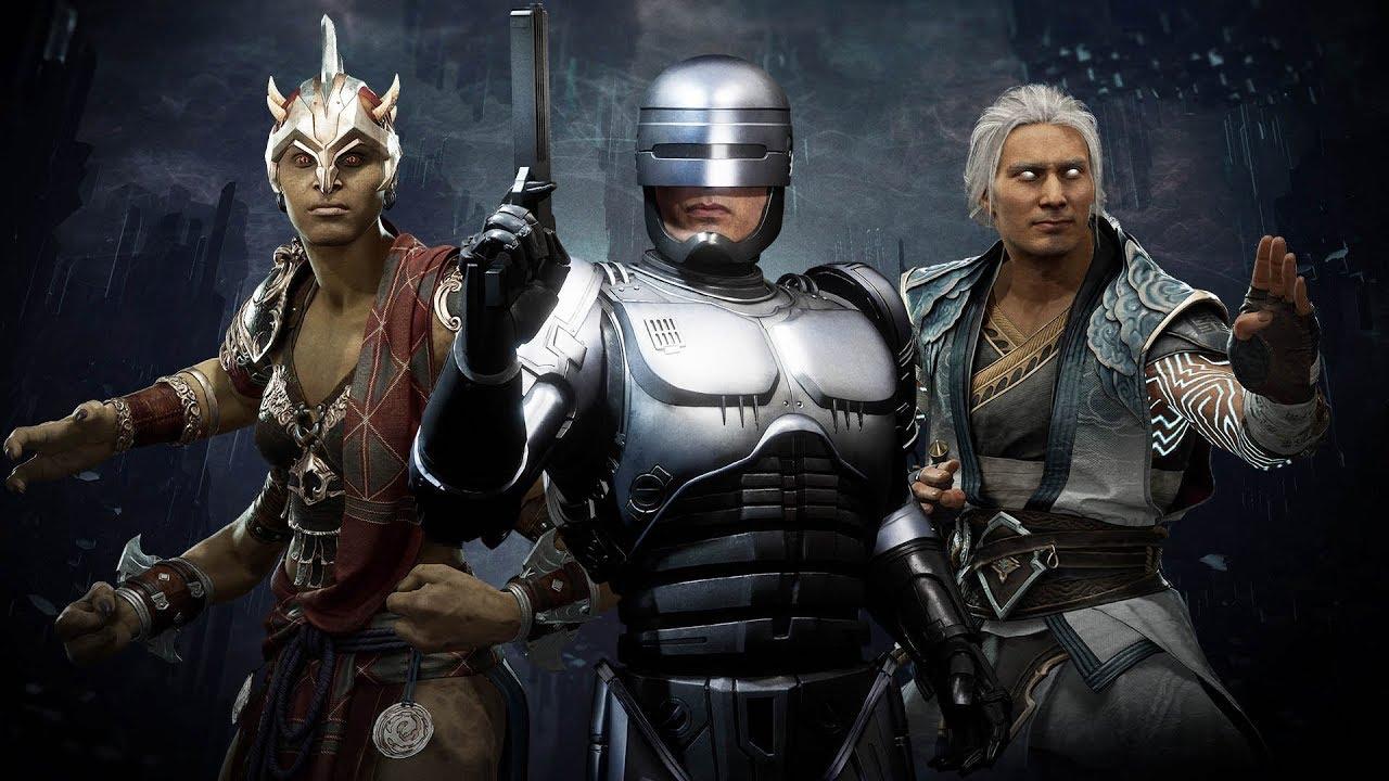 MK11 - AFTERMATH DLC - ROBOCOP, FUJIN, SHEEVA - DAY 1
