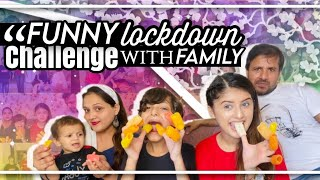 """""""Funny Lockdown Challenges With Family."""" 