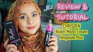 review tutorial   chriszen roller moist ampoule plus hd foundation