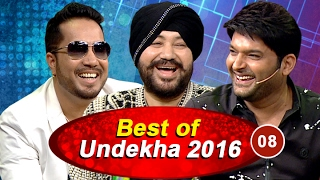 Popular Bollywood Singers on The Best of Undekha | 08 | The Kapil Sharma Show | Sony LIV | HD