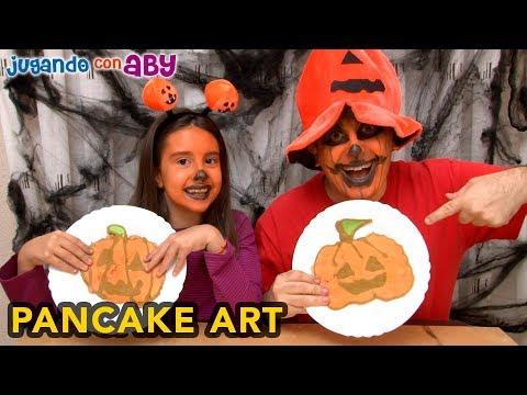 Especial Halloween 🎃 RETO PANCAKE art challenge. Nos reta Superguay!