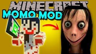 MOMO MOD - Llama al numero maldito pero en Minecraft! - Minecraft mod 1.12.2 Review ESPAÑOL
