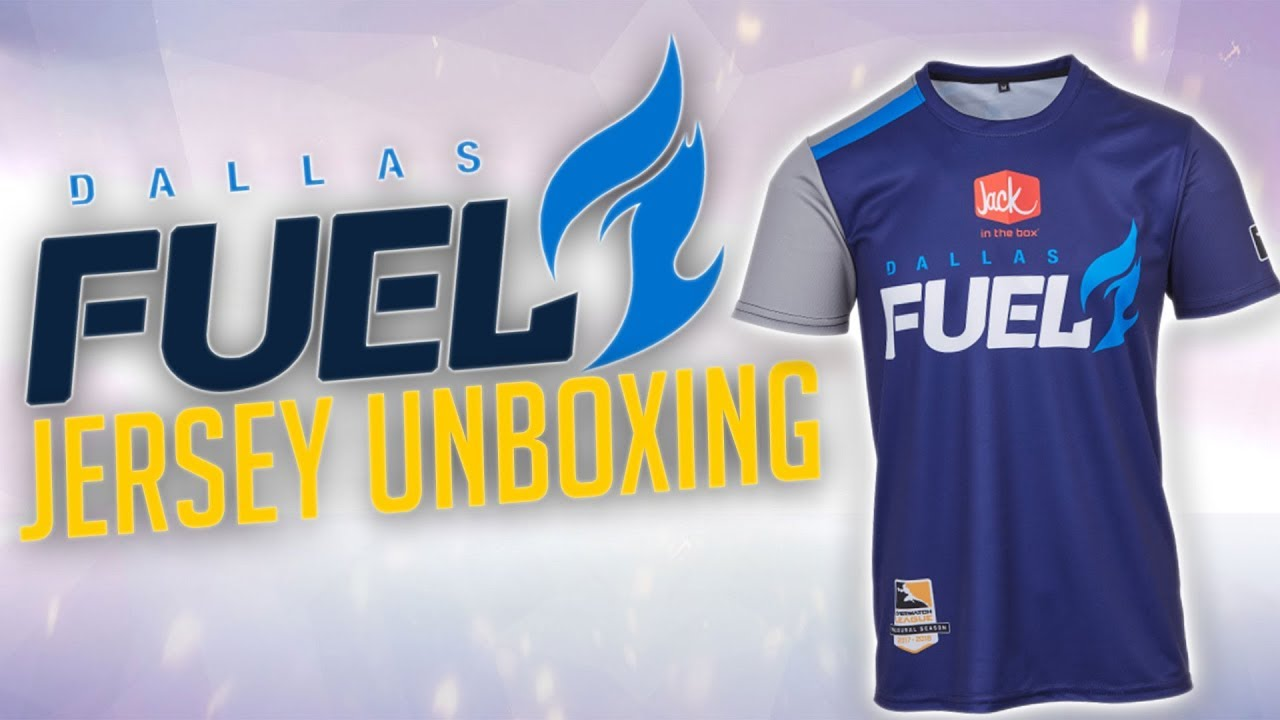 super cute 8c436 340d2 Overwatch League Dallas Fuel Jersey Unboxing & Review - YouTube