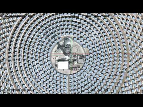 A tour of concentrated solar power plants in the Virtual Solar Grid