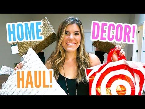 TARGET HOME DECOR HAUL!