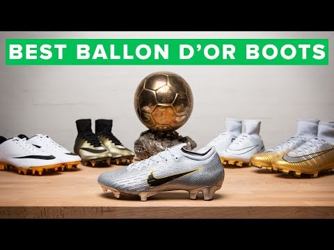 ALL THE BALLON D'Or BOOTS | Modric & Mbappé's New Boots