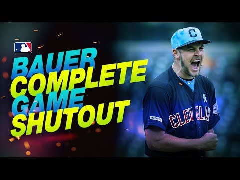 None - Indians Ride Trevor Bauer To Shutout Win Over Tigers