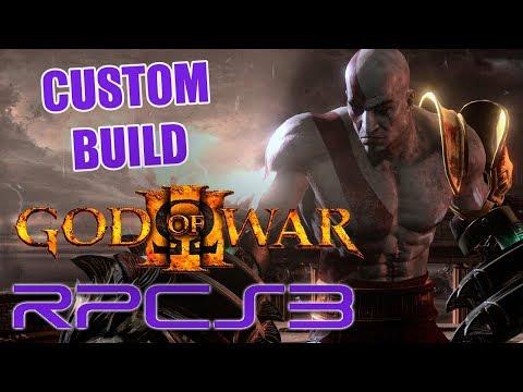 GOD OF WAR 3 (RPCS3) | DESEMPENHO NA NOVA CUSTOM BUILD | LLVM-VULKAN