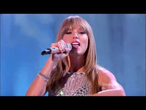 Victoria's Secret Fashion Show : Taylor Swift with Fallout Boy
