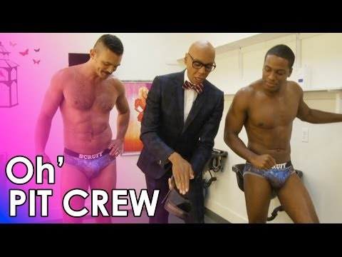Oh' Pit Crew with the RuPaul's Drag Race Scruff Pit Crew - Heels