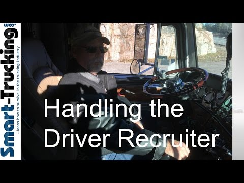Handling the Truck Driver Recruiter Like a Boss