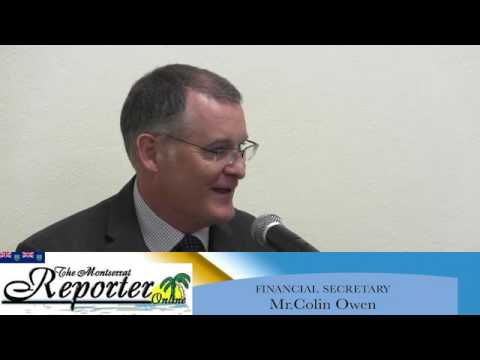 Exclusive Interview with Finance Secretary Mr.Colin Owen