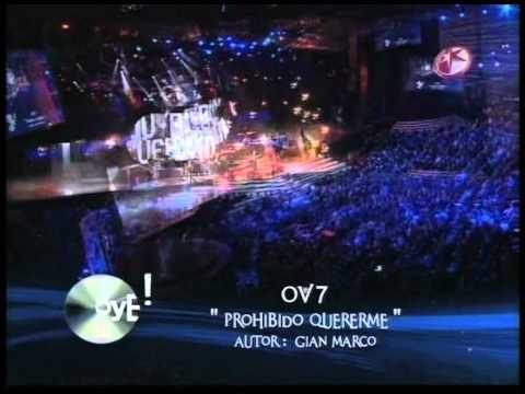 OV7- Actuación  Premios Oye