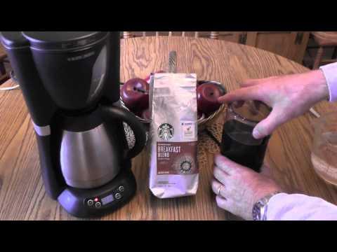 Krups Coffee Bean Grinder Demo
