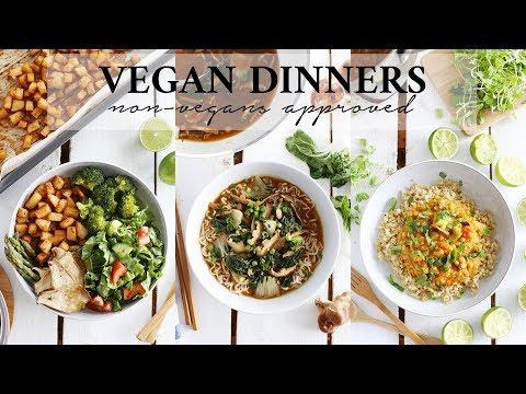EASY + HEALTHY VEGAN DINNER IDEAS   Non-Vegan Husband Approved!