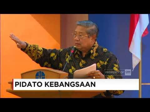 SBY: Marilah Jadi Bangsa yang Optimis, Jangan Mudah Mengeluh; Pidato Kebangsaan SBY,