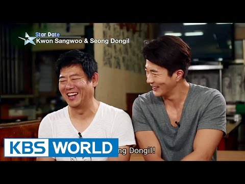 Meet Kwon Sangwoo and Seong Dongil at the market (Entertainment Weekly / 2015.10.09)
