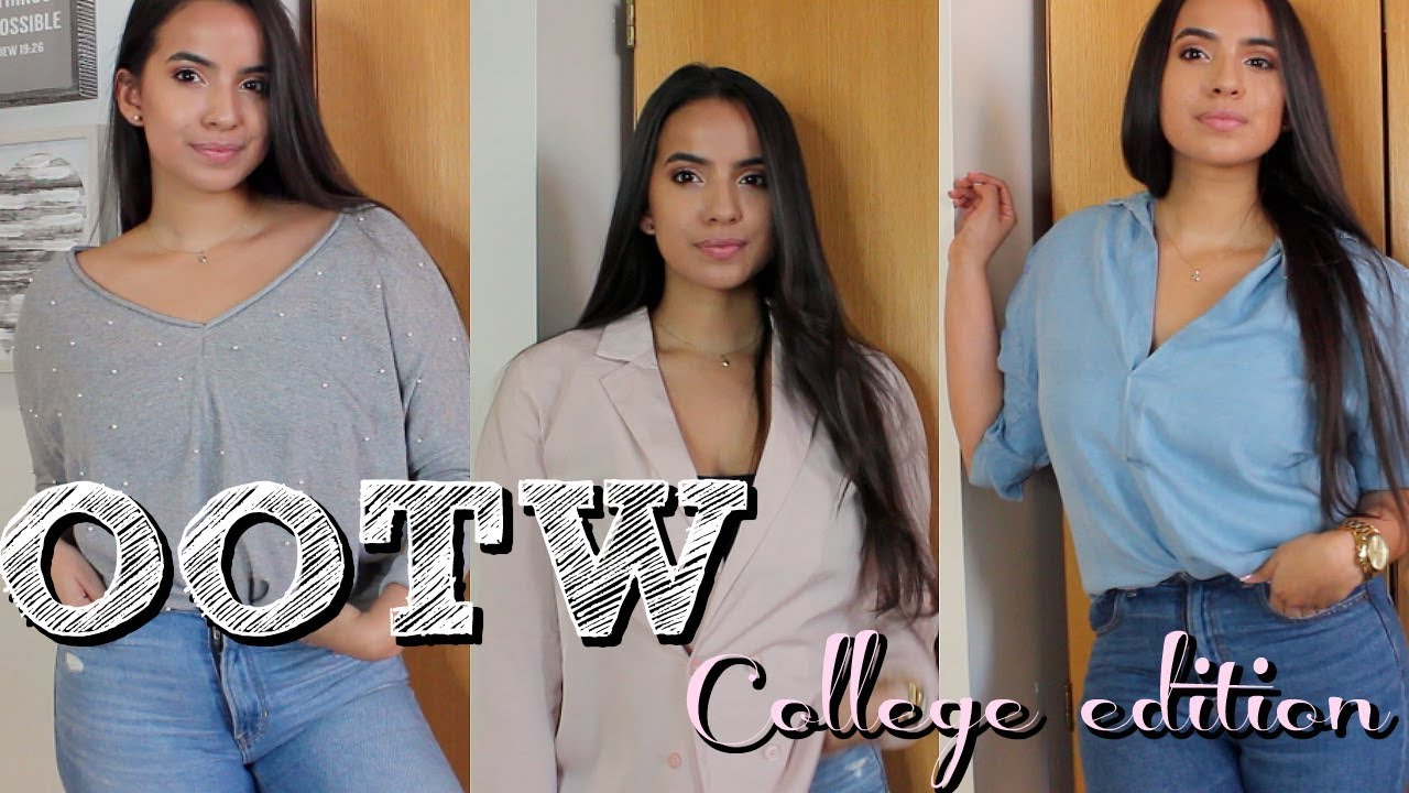 OOTW | Winter Outfits for College
