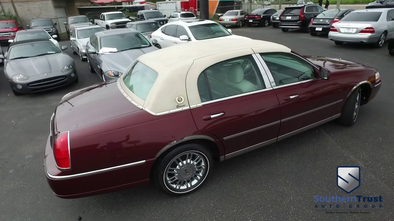 Live Video 2004 Lincoln Town Car Presidential Southern Trust 10 24