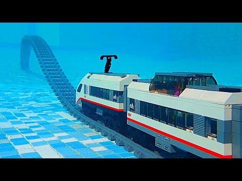 Lego Train Under Water (PART 4)