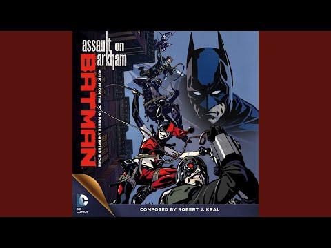 Harley Arrested to Arkham