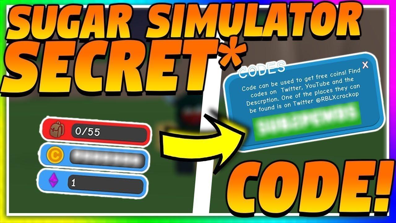 sugar simulator roblox codes