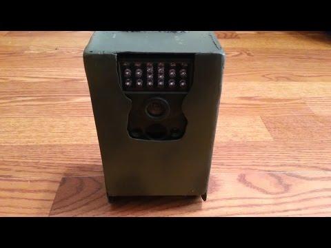 Trail camera homemade lock box security