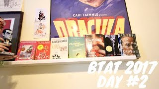 BOOKTUBE-A-THON VLOG: DAY 2 (INSTAGRAM & BOOKTUBE CHALLENGES!)