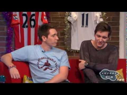 Oliver and James Phelps - Sky Sport Shows - SoccerAM
