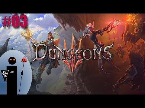 Let's Play Dungeons 3 #03 Bravely sacrificing our creatures to fight another day |