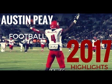 Ultimate Austin Peay Governors Football 2017 Season Highlights [HD]