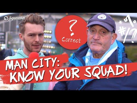 Know Your Squad: 'De Bruyne?!' Manchester City Fans Quizzed