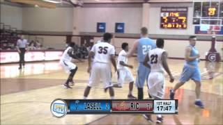 RIC Men's Basketball vs LaSell 12-03-15