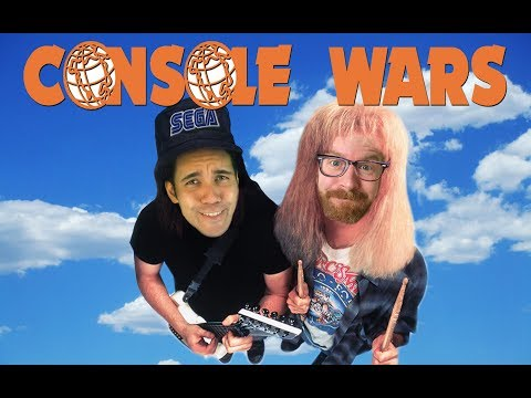Console Wars - Wayne's World - Super Nintendo vs Sega Genesis