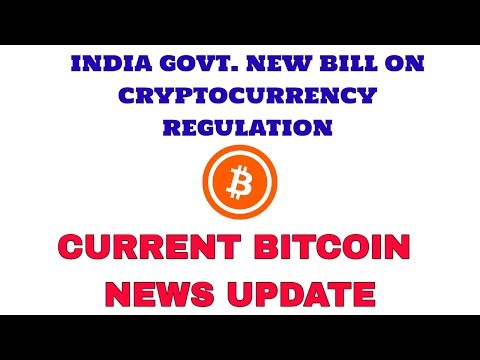 India govt new bill on cryptocurrency regulation!Current bitcoin news update in hindi