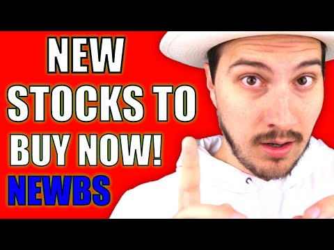5 STOCKS TO BUY NOW FOR NEW INVESTORS - STOCK MARKET FOR BEGINNERS