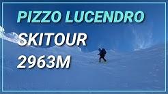 ⛷Skitour zum Pizzo Lucendro 2963m im Gotthardgebiet [4K]