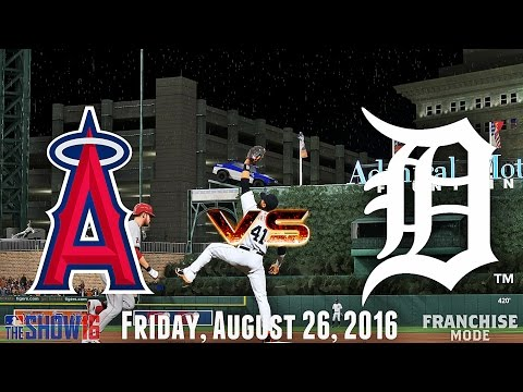 15 INNINGS! (Los Angeles Angels @ Detroit Tigers) MLB The Show 16 Franchise Mode