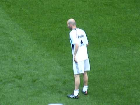Zinedine Zidane, Corazón Classic Match en Madrid 2010