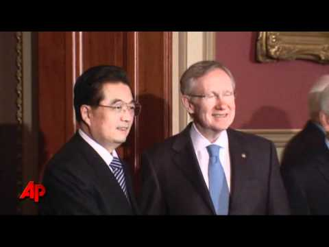 Raw Video: China's President Visits Capitol Hill